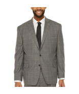 Shaquille O'Neal XLG Windowpane Stretch Classic Fit Suit Jacket Size 54R... - $89.99