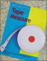 Tape Measure Round 6 foot measuring tape sewing quilting cross stitch - $2.50
