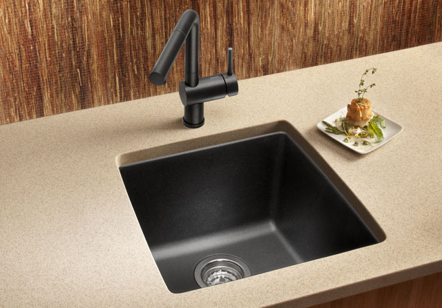 ... Composite Kitchen Bar Sink Single Bowl Undermount Combo Deal - Sinks