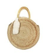 Zara Women Round raffia basket bag 3388/304/002 - £41.00 GBP