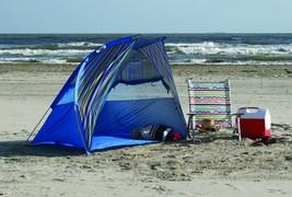 NEW Sun Shelter Tent Canopy Cabana Beach Blue H... - $56.42