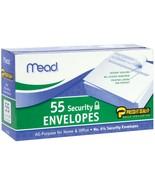 Boxed Peel and Stick Envelopes 3.625X6.5 55-Pkg - $3.87
