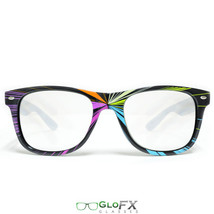 GloFX Starburst Diffraction Glasses Laser Etched Hard Plastic Light Diffracting - $19.99