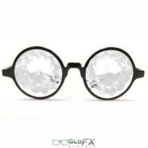 Kaleidoscope sunglasses raver edm music festival light show glow punk hipster 3d - $31.99