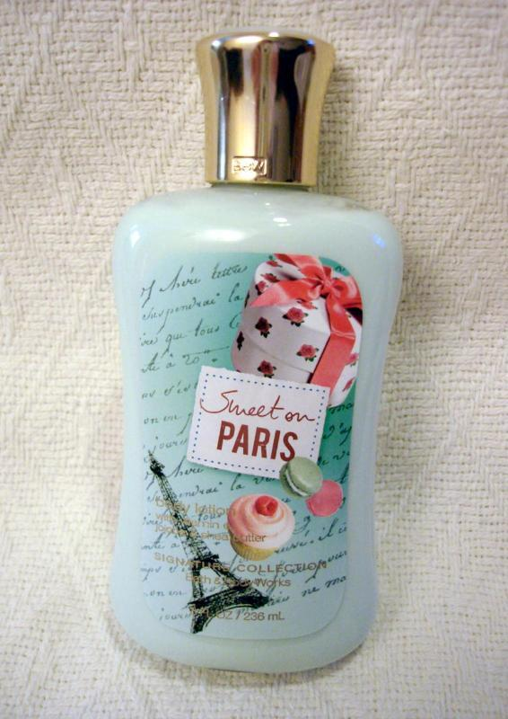 Sweet on paris bath body works fragrance mist body for Bath and body works scents best seller