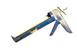 Caulking Gun Dispenser- Heavy Steel Gauge - Lever Piston, Blue Color - $8.86