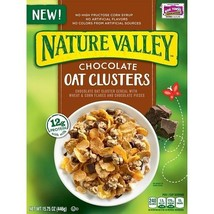 Nature Valley Chocolate Oat Clusters Cereal - $13.81