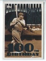 BABE RUTH 2010 Topps Cards Your Mom Threw Out #CMT102 Yankees - $4.49