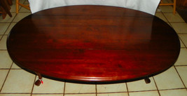 Solid Cherry Dropleaf Coffee Table by Ethan Allen - $499.00