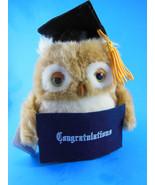 Russ Berrie Applause Plush Owl for Graduation Gift Congratulations Mint ... - $6.62