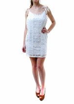 For Love & Lemons Women's New Strappy Flowers Lace Dress White RRP £155 ... - $94.90