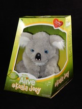 WowWee Alive Koala Joey Interactive Plush Baby Bear Responds to Touch NEW - $98.99