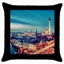Berlin Germany Throw Pillow Case - $16.44