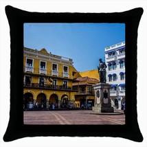 Cartagena Colombia Throw Pillow Case - $16.44