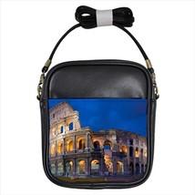 Colosseum Rome Italy Leather Sling Bag (Crossbody Shoulder) & Women's Handbag - $16.48+