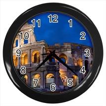 Colosseum Rome Italy Wall Clock - $17.41
