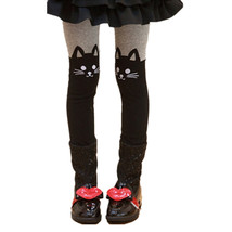 Baby Girl's Cat Hosiery Long Cotton Tights Size... - $9.99