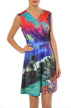 Smash! Spain: Island Breeze Print Dress - $80.99