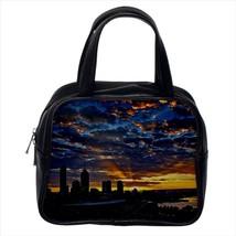 Golden Sunrise Perth Australia Leather Sling Bag & Women's Handbag - $16.48+