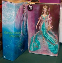 Barbie Doll as Aphrodite Fantasy Goddess Series NRFB in shipper Gold Lab... - $399.99