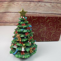 Victorian Christmas Tree San Francisco Music Box Company Oh Tannenbaum R... - $49.50