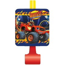 Blaze and the Monster Machines Party Blowouts 8 Ct Trucks - $3.32
