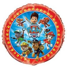"Paw Patrol 18""  Round Foil Mylar Balloon Birthday Party Chase Marshall - $3.79"