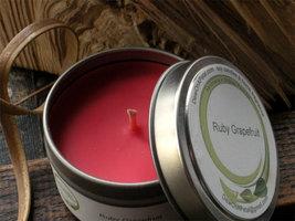 Ruby Grapefruit Soy Candle Travel Tin 6 oz - $8.00