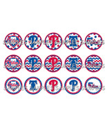 "MLB Philadelphia Phillies 1"" Bottle Cap Image S... - $2.00"