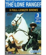 The Lone Ranger -DVD & Action Figure - $4.95