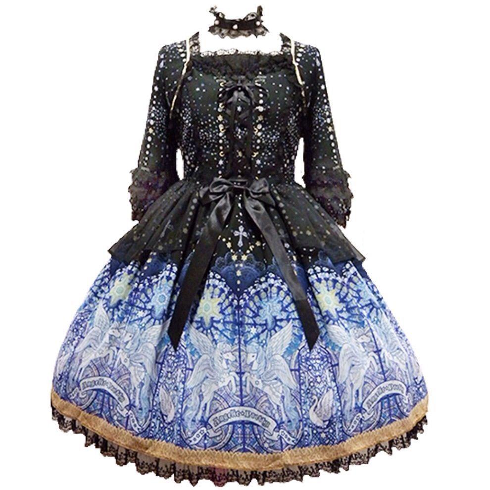 Angelic Pretty Luminous Sanctuary Dress + Choker Lolita Japanese Fashion Kawaii image 6