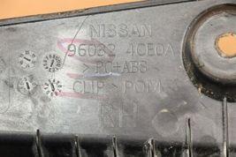 17-18 Nissan Rogue Rear Quarter Taillight Moldings Trims Extensions L&R image 8