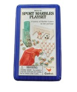 Deluxe Sport Marbles Play set a Variety Of Marble Games In One Package - $10.89
