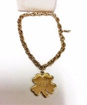 New AVON Young Reflection Clover Bracelet Year of 1981 Large Clover Brac... - $9.95