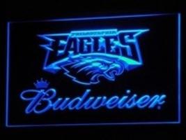 Neon light sign Budweiser Eagles Football Beer NFL  - $29.99