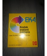 KODAK EK4 INSTANT CAMERS WITH ORIGINAL BOX AND INSTRUCTIONS UNTESTED - $14.85