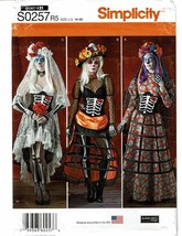 SIMPLICITY PATTERN 0257 MISSES COSTUMES SIZE R5 (14-22) - $5.00