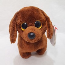 "Frank Dachshund Dog Ty Beanie Baby Plush Stuffed Animal 7"" Long 2012 Big... - $17.99"