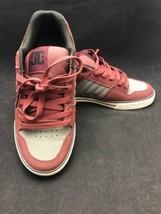 DC Mens 302880 Course Skate Shoes Black/Gray/Red Size 9.5 US 42.5 Euro EUC - $29.65