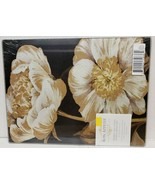 "GLASS CUTTING BOARD / SERVING TRAY,10 x 13"", MAGNOLIAS FLOWERS, MR  - $12.86"