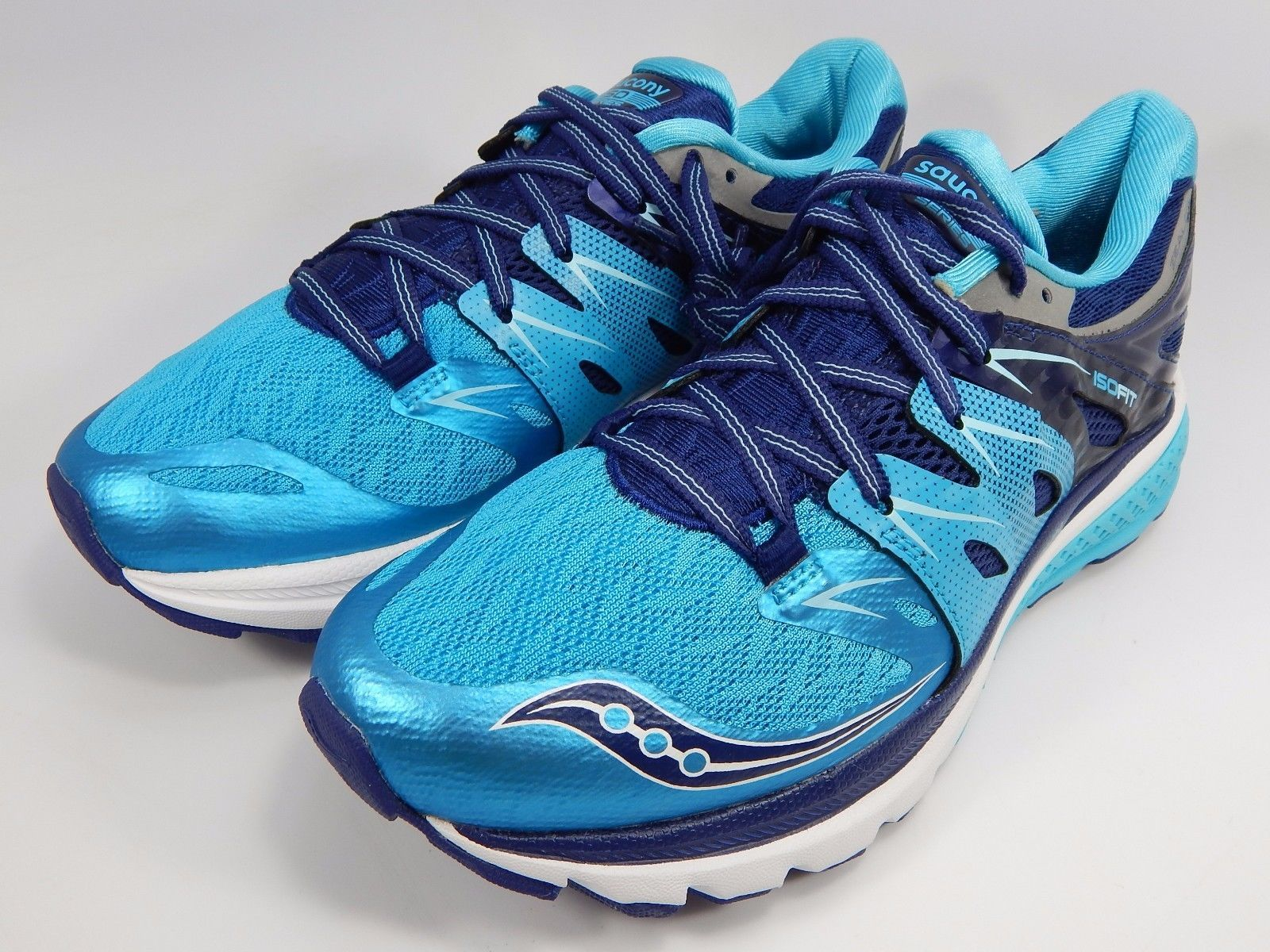 Saucony Zealot ISO 2 Women's Running Shoes Size US 8 M (B) EU 39 Blue S10314-3