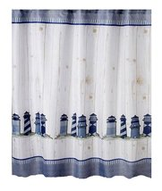 Traditions Lighthouse Print Fabric Shower Curtain - $29.99