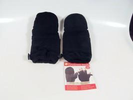 2 In 1 Convertible Fingerless Fleece Gloves & Mittens Men Women Unisex G... - $13.75