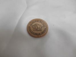 "Old SUTTON ALASKA ""DEBBIE'S OLD COINS"" WOODEN NICKEL Token Alaskan Memor... - $19.79"