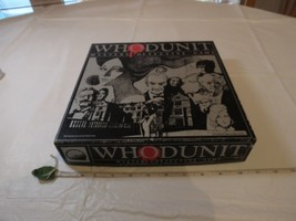 WHODUNIT Mystery Detective Board Game 1985 Vintage Who Dun It RARE board... - $39.59