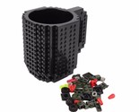 OUTAD 1pc Build-On DIY Assembly Brick Mug Children Kids Building Blocks Coffee