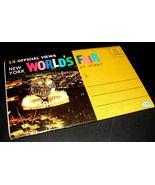 "1965 New York World's Fair POSTCARD FOLDER Unisphere Dexter Press 6""x4 P... - $12.99"