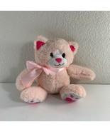 """Animal Adventure Cat Plush Pink Kitten Stuffed Animal 8.5"""" 2019 Kitty  - $14.85"""