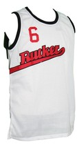 Rucker Park 1977 Retro Basketball Jersey New Sewn White Any Size image 3
