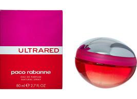 PACO RABANNE Ultrared Eau De Parfum BNIB (RARE & COLLECTABLE) - $85.48